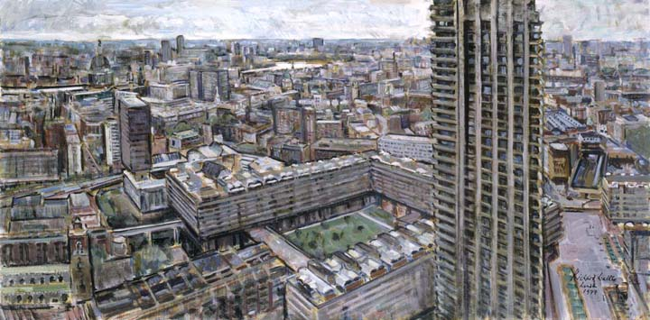 London From Cromwell Tower 1977