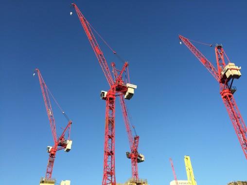 cranes | theLONDON i