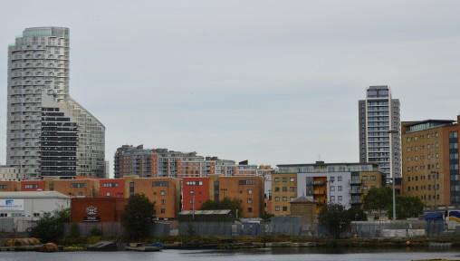 Poplar from Canary Wharf