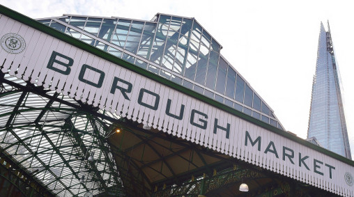Borough Market vs The Shard