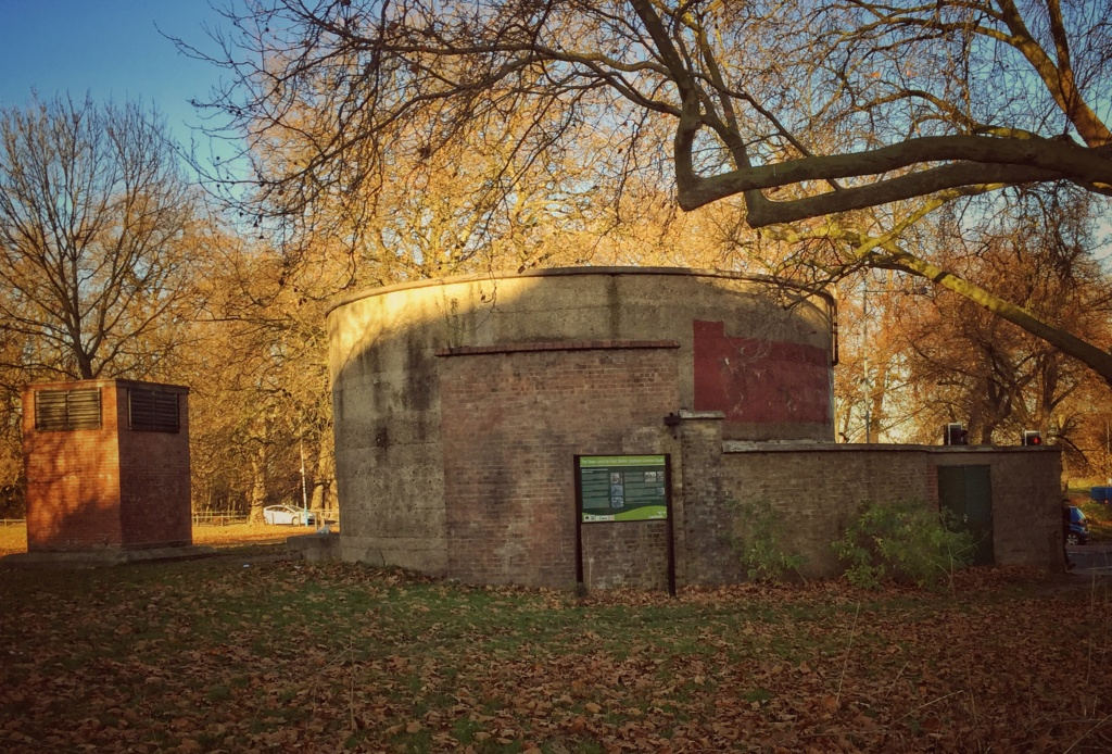 The deep air raid shelter