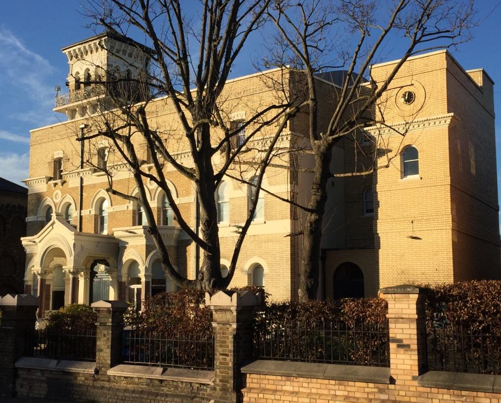 One of the original wealthy villas; no 74 Nightingale Lane. Now a school.